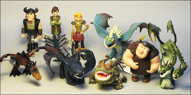 Drachenzähmen Figuren